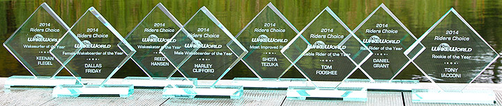 2014 Riders Choice Trophies