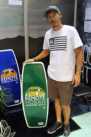 Ben Horan and his 2014 Horan pro model