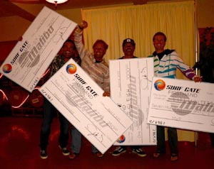 Winners - Chad Borba, Sean Mattison, Josh Sleigh and Tim Walters