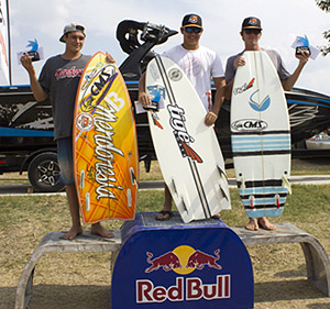 Open Men Surf Winners